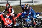 Francesco Bagnaia (Pramac) und Alex Rins (Suzuki)