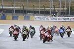 MotoGP Start in Le Mans