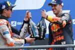 Alex Marquez (Honda) und Pol Espargaro (KTM)