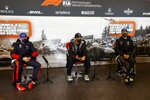 Max Verstappen (Red Bull), Lewis Hamilton (Mercedes) und Daniel Ricciardo (Renault)