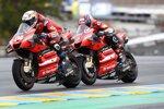 Andrea Dovizioso (Ducati) und Danilo Petrucci (Ducati)