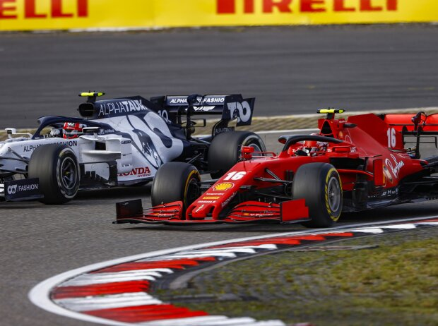Charles Leclerc, Pierre Gasly