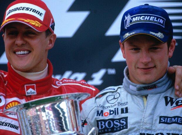 Kimi Räikkönen, Michael Schumacher