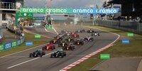 Lewis Hamilton, Valtteri Bottas, Charles Leclerc, Max Verstappen, Daniel Ricciardo, Lando Norris, Alexander Albon, Sergio Perez, Carlos Sainz