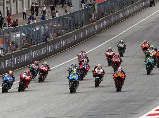 MotoGP Start in Spielberg