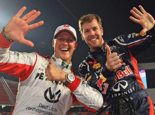 Michael Schumacher, Sebastian Vettel