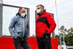 Gerhard Berger und Dieter Gass