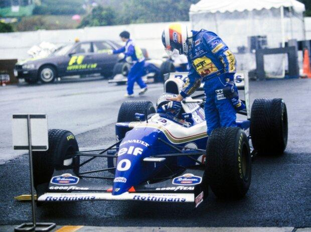 Damon Hill, Michael Schumacher