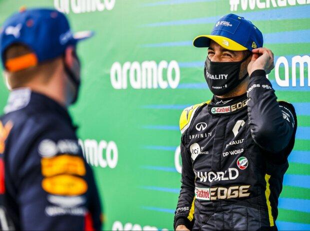 Daniel Ricciardo, Max Verstappen