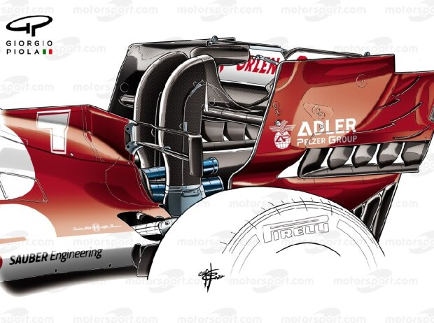 Alfa-Romeo-Heckflügel 2020