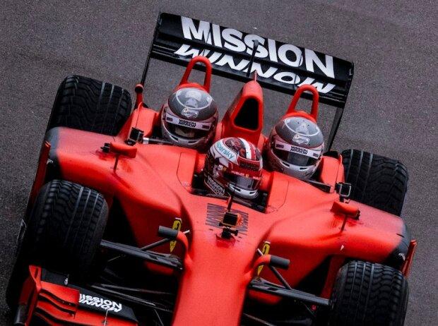Ferrari-F1-Dreisitzer