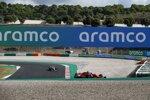 Sebastian Vettel (Ferrari) und Lance Stroll
