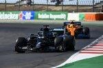Lewis Hamilton (Mercedes) und Lando Norris (McLaren)