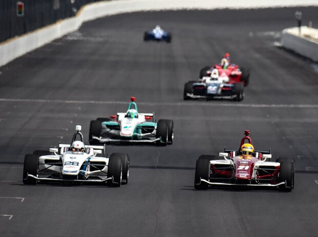 Indy-Lights-Action in Indianapolis 2019