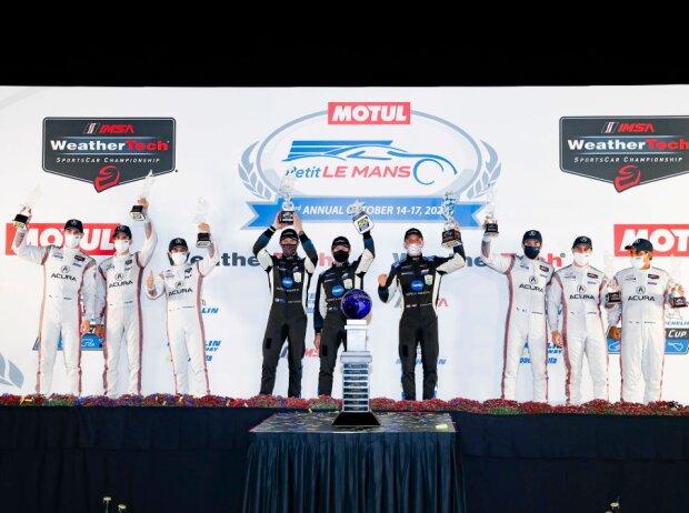 Siegerehrung beim Petit Le Mans 2020