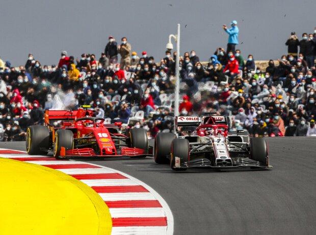 Kimi Räikkönen, Charles Leclerc