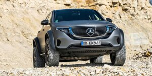 Mercedes-Benz EQC: News, Gerüchte, Tests