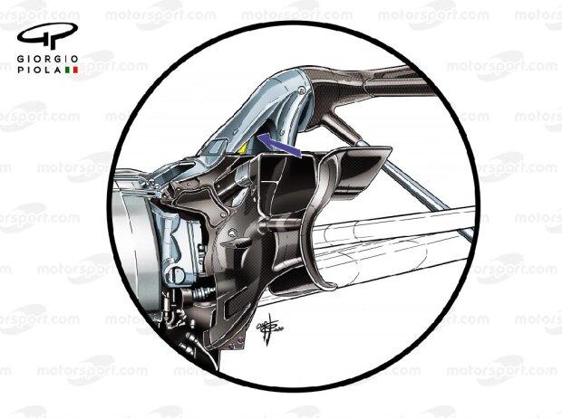 Aufhängung Red Bull RB16