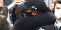 Anthony und Lewis Hamilton