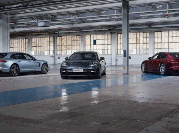 2021 Porsche Panamera Turbo S E-Hybrid, 4 E-Hybrid und 4S