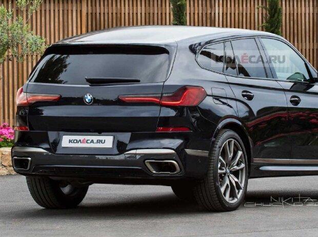 BMW X8 (2021) Rendering