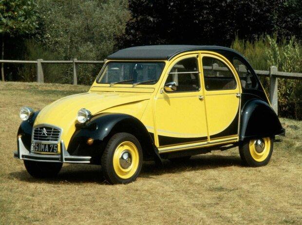 Citroën 2CV Charleston (1982) in Hélios Gelb/Schwarz