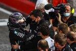 Lewis Hamilton (Mercedes) und Toto Wolff
