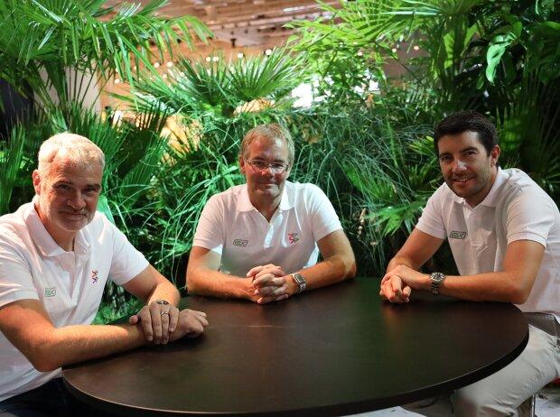 Jörg Walz, Thomas Voigt, Mike Rockenfeller