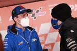 Joan Mir (Suzuki) und Maverick Vinales (Yamaha)