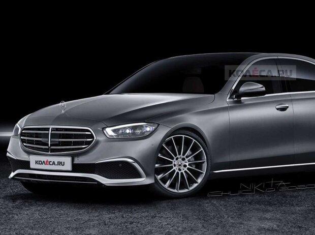 2022 Mercedes C-Class unofficial rendering