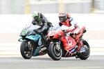 Franco Morbidelli (Petronas) und Francesco Bagnaia (Pramac)