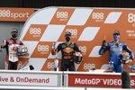 Pol Espargaro (KTM), Alex Rins (Suzuki) und Takaaki Nakagami (LCR)