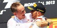 Lewis Hamilton, Martin Whitmarsh