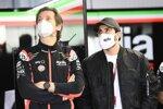 Massinmo Rivola und Andrea Iannone (Aprilia)