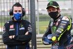 David Munoz und Valentino Rossi (Yamaha)