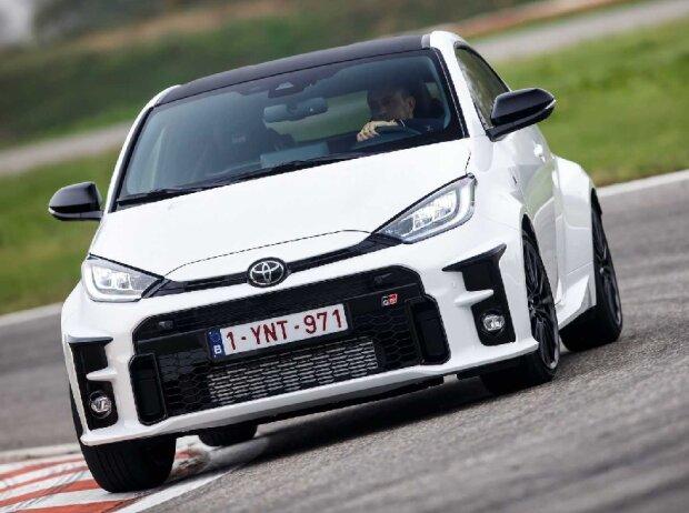 Toyota GR Yaris (2021): Fahraufnahmen auf der Rennstrecke