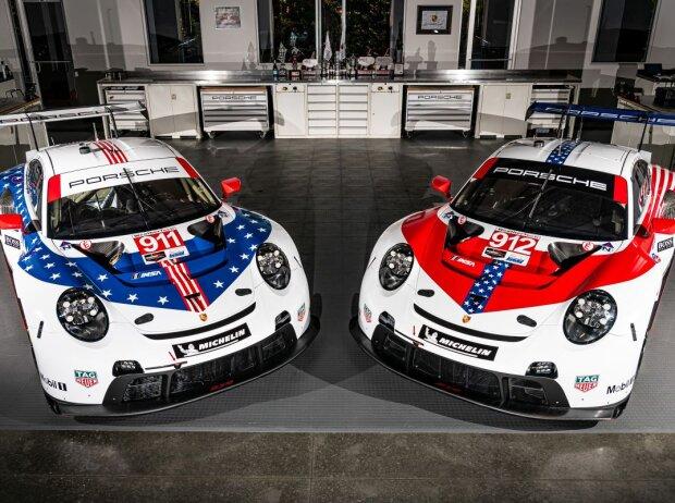 Porsche-Sonderdesign für die 12h Sebring 2020