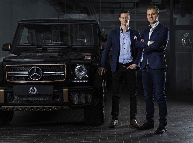 Lorenz (l.) und Luis Mohr, Mohr Group