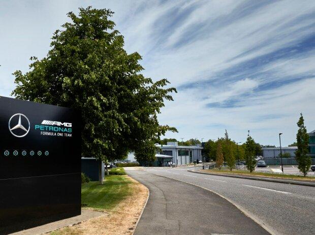 Mercedes-Fabrik in Brackley