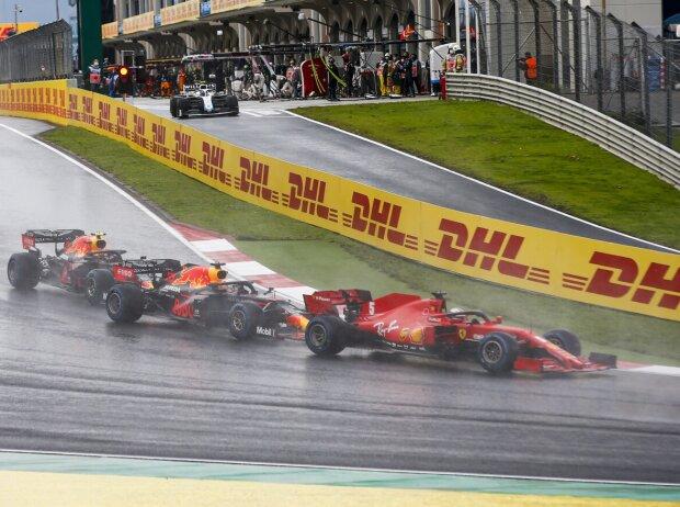 Sebastian Vettel, Alexander Albon, Kevin Magnussen