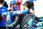 Alex Rins (Suzuki) und Franco Morbidelli (Petronas)