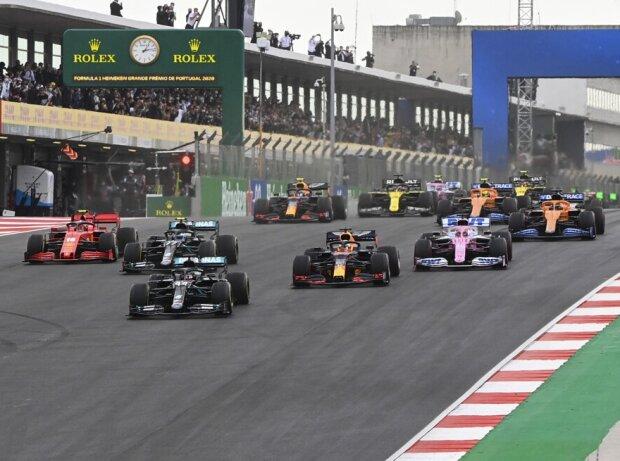 F1-Start in Portimao 2020