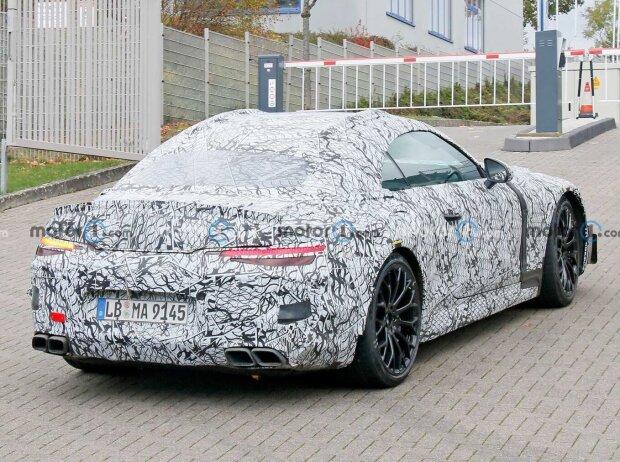 Mercedes-AMG SL (2021) Erlkönig November 2020