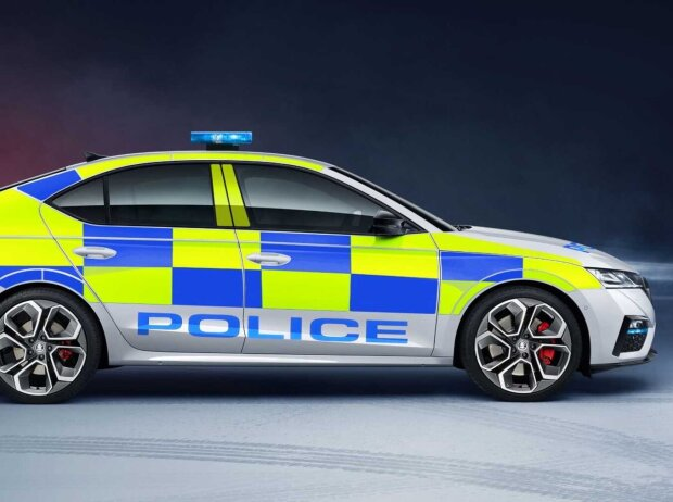 Skoda Octavia RS Polizeiauto UK (2020)