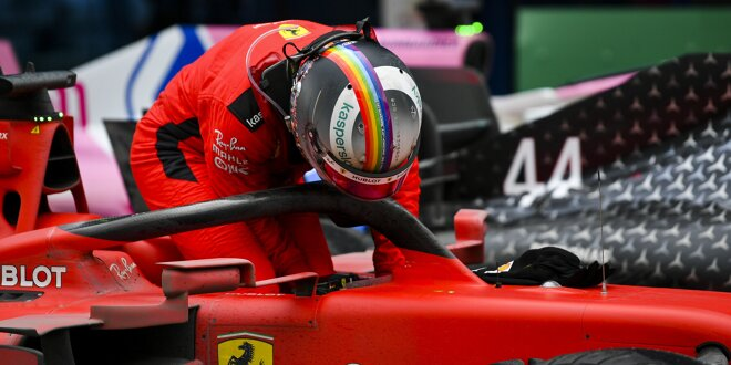 Sebastian Vettel Ferrari Sf1000 Produziert Mehr Luftwiderstand