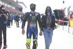 Valentino Rossi und seine Freundin