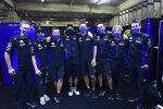 Die Crew rund um Valentino Rossi