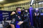 Alex Briggs und Valentino Rossi