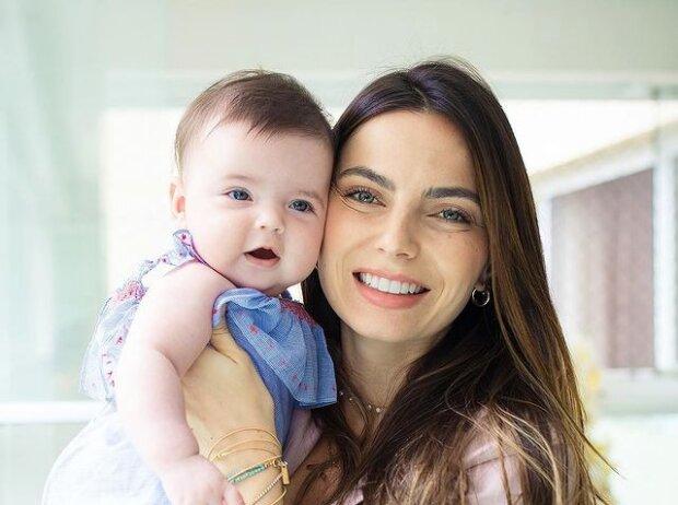 Kelly Piquet mit Tochter Penelope