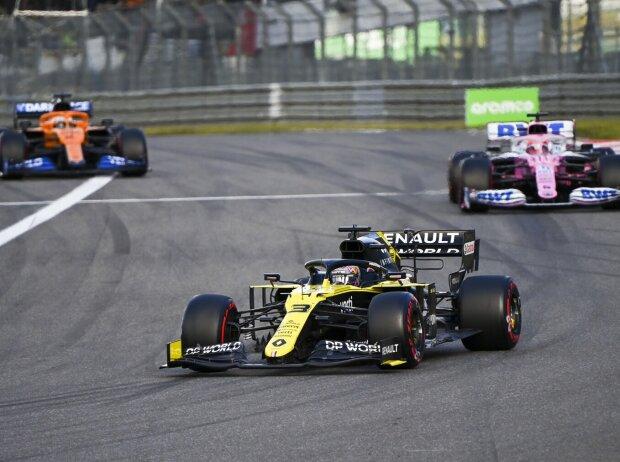 Daniel Ricciardo, Sergio Perez, Carlos Sainz